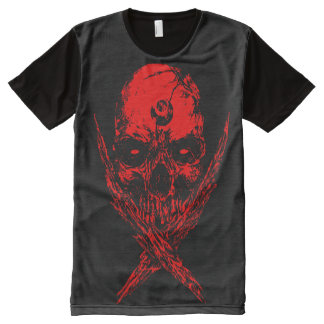 SKULL DIABOLUS R All-Over PRINT T-Shirt