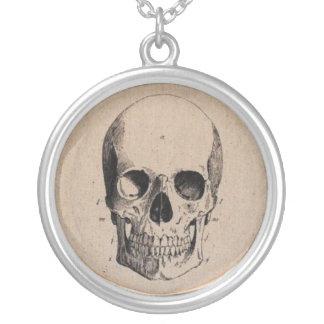 Skull Diagram Necklace