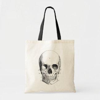 Skull Diagram Totebag Budget Tote Bag