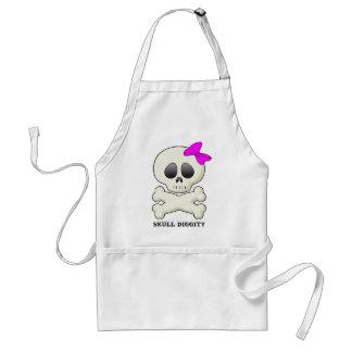Skull-Diggity-Girl Standard Apron