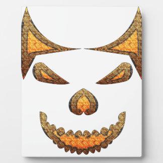Skull Display Plaque