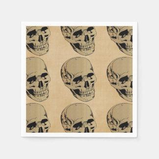 Skull Disposable Napkins
