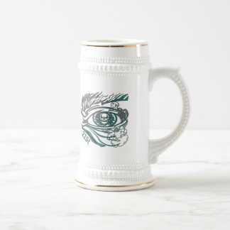 Skull Eye 21st Birthday Gifts Beer Stein