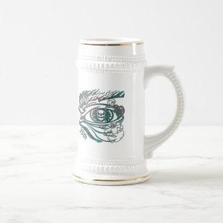 Skull Eye 35th Birthday Gifts Beer Stein