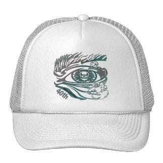 Skull Eye 40th Birthday Gifts Hats