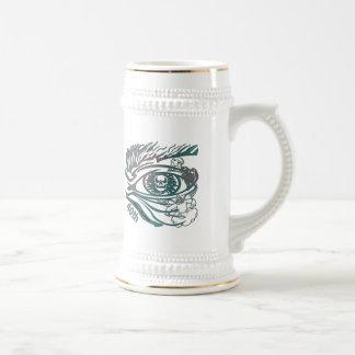 Skull Eye 40th Birthday Gifts Mug