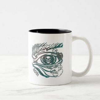 Skull Eye 40th Birthday Gifts Coffee Mugs