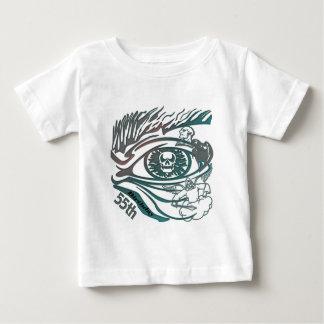 Skull Eye 55th Birthday Gifts Baby T-Shirt