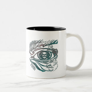 Skull Eye 70th Birthday Gifts Coffee Mugs