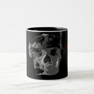Skull face,Coffee mup Mugs