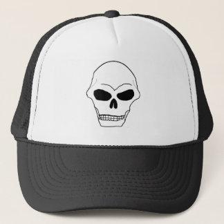 Skull Face Trucker Hat