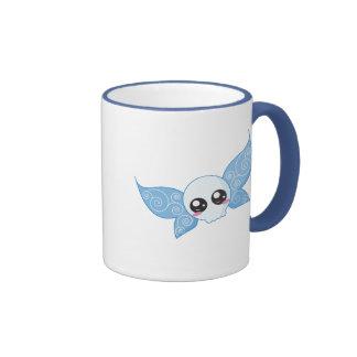 Skull Fairy - Blue Ringer Mug