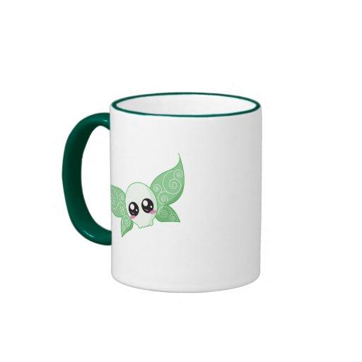 Skull Fairy - Green Mugs