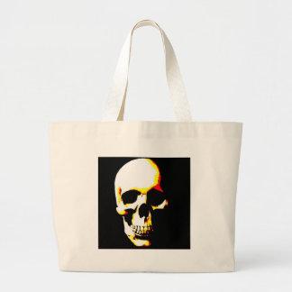 Skull Fantasy Art  Rock Punk Jumbo Tote Bag