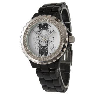 Skull & Filigree Black Watch