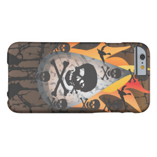 Skull & Fire Barely There iPhone 6 Case