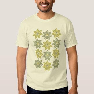 Skull Flowers T-shirts