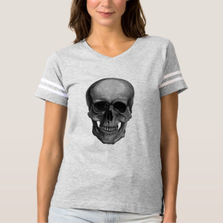 Skull For Horror Fans and Goths T-Shirt