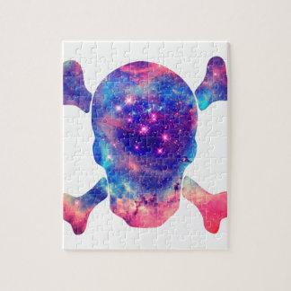Skull Galaxy Jigsaw Puzzle
