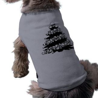 Skull Garland Christmas Tree Shirt