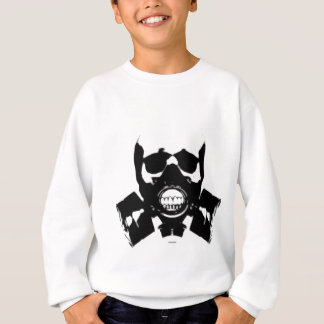 skull-gas-mask-bones sweatshirt
