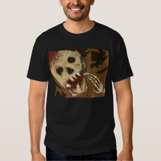 SKULL GHOUL TRICK OR TREAT ME SHIRTS TEES