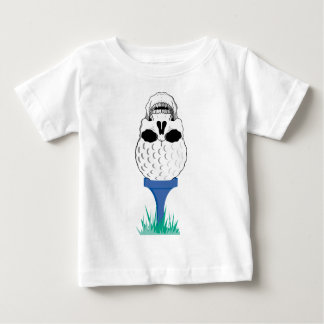 Skull Golf Baby T-Shirt