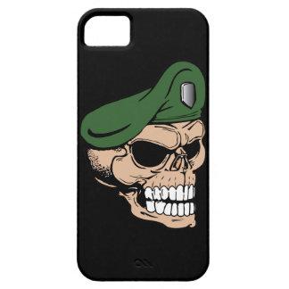 Skull Green Beret iPhone 5 Cover