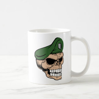 Skull Green Beret Coffee Mug