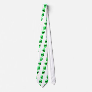 Skull Green The MUSEUM Zazzle Gifts Custom Ties