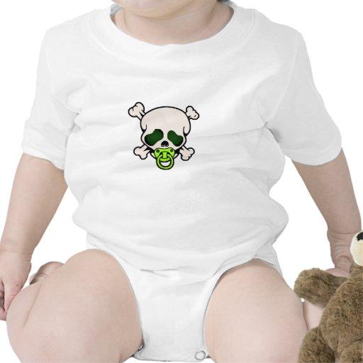 Skull Green - Verde Skull Tee Shirts