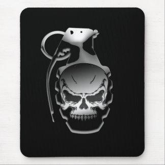 Skull Grenade Mouse Mat