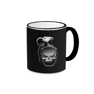 Skull Grenade Mug
