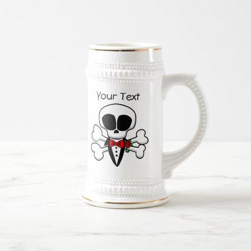 Skull Groom Fully Customizable Mug
