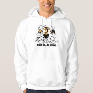 Skull groopie hoodie
