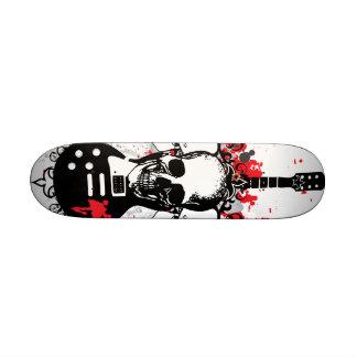 Skull Guitar Deck Skate Deck