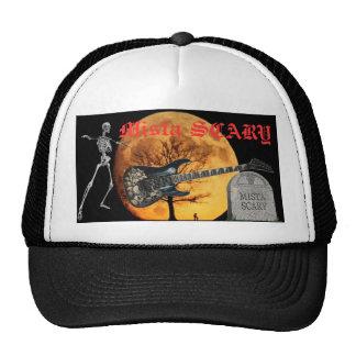 Skull Guitar Harvest Moon Skeleton Tombstone Hat