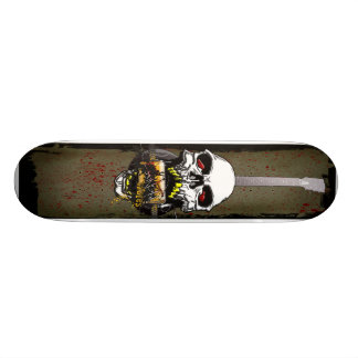 Skull Guitar Skateboard