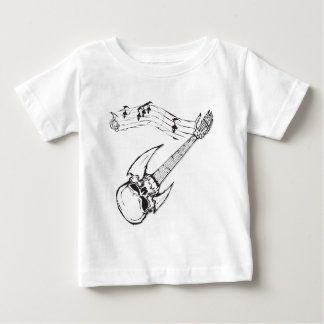 Skull Guitar Tee Shirts