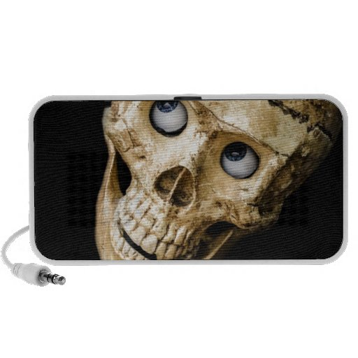 skull halloween people mask dummy scary holidays laptop speaker
