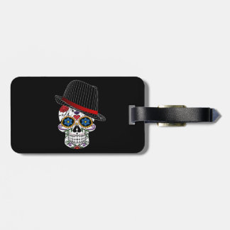 Skull Halloween Style Luggage Tag