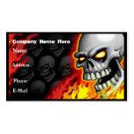 Skull Head Business Card Customisable