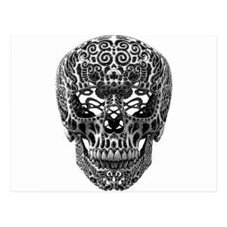 Skull Hearts Postcard