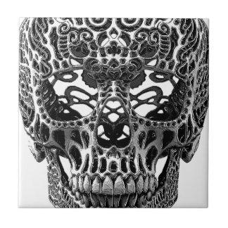 Skull Hearts Tile