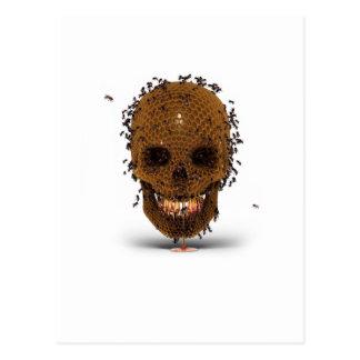 Skull Hive Postcard