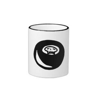 Skull Hockey Puck Mug