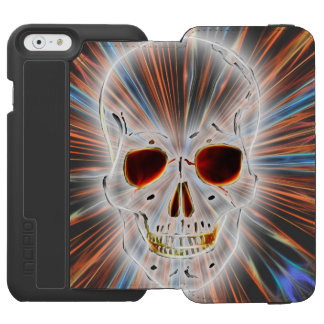 Skull Horror Gothic Incipio Watson™ iPhone 6 Wallet Case