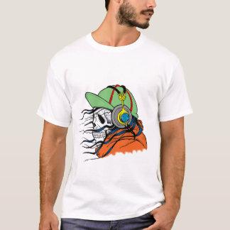 Skull Horror Halloween T-Shirt