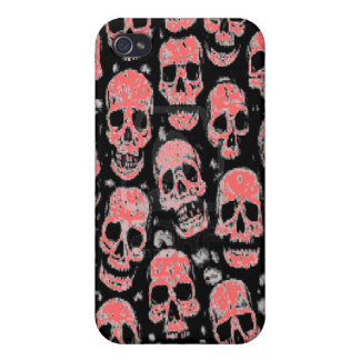 Skull I- . You can change skull color. iPhone 4/4S Cover