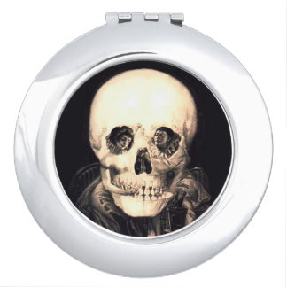 Skull Illusion Mirrors For Makeup